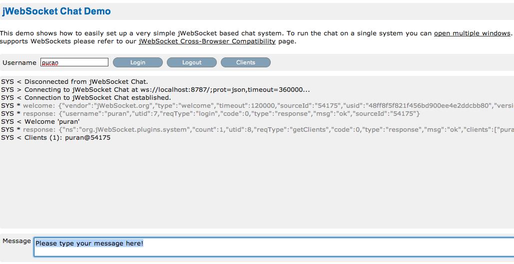 jWebSocket Step-By-Step – Part 1 | jWebSocket